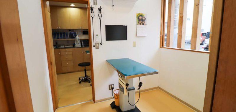 さの動物病院診察室